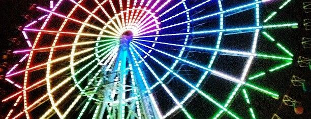 Palette Town Giant Sky Wheel is one of สถานที่ที่ Addie ถูกใจ.