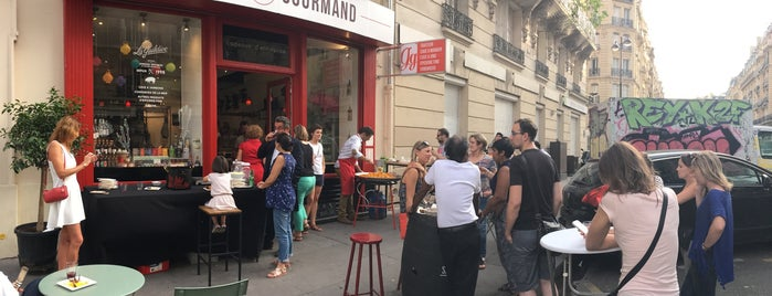Gourmet Gourmand is one of Paris 2017-2018.