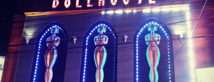 Doll house is one of strip clubs 3 XXX.