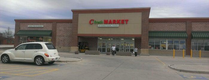 C Fresh Market is one of สถานที่ที่ Brian ถูกใจ.
