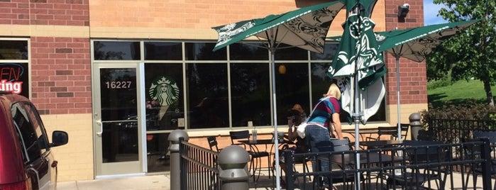 Starbucks is one of Lieux qui ont plu à Matilda.