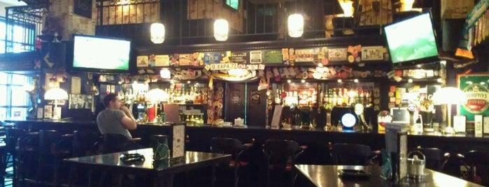 Ирландский паб О'Хара is one of Bars & The Moscow.