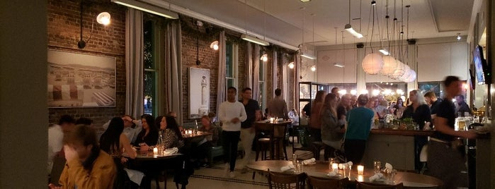 The Darling Oyster Bar is one of Charleston Seafood.