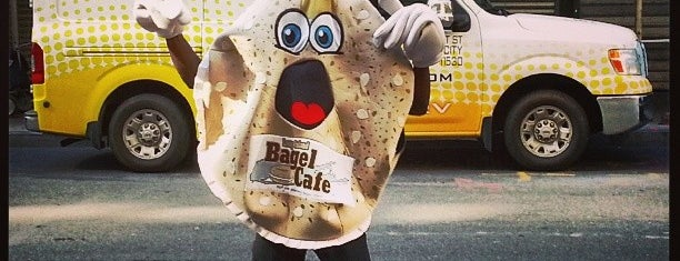 Long Island Bagel Cafe is one of USA NYC MAN FiDi.