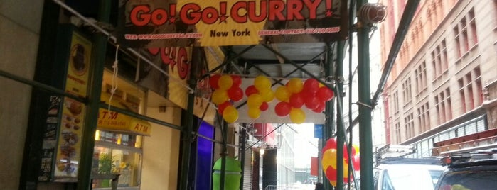 Go! Go! Curry is one of Downtown Manhattan.