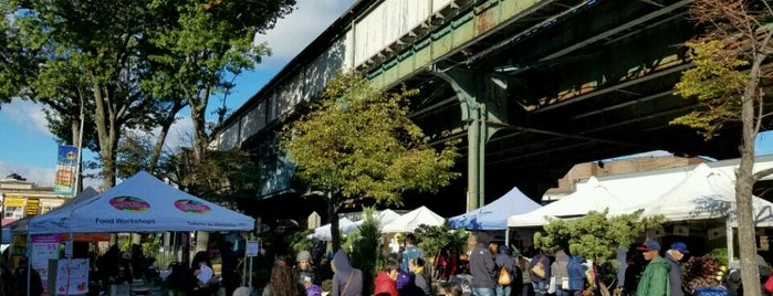 Corona Greenmarket is one of NYC Health: NYC Farmers' Markets.