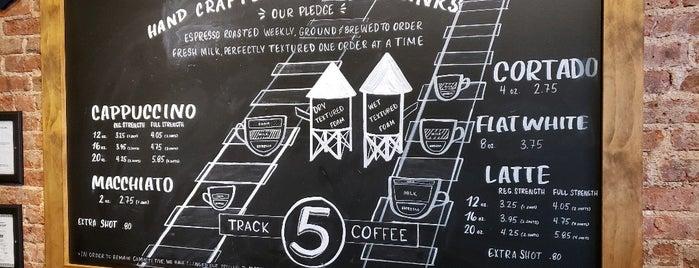 Track 5 Coffee is one of WestGarFord.