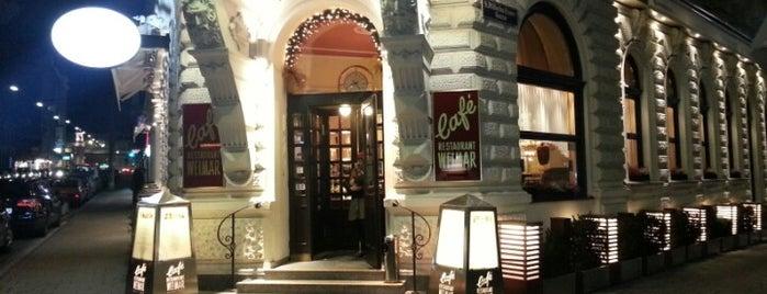 Café Weimar is one of Kaffeehäuser.