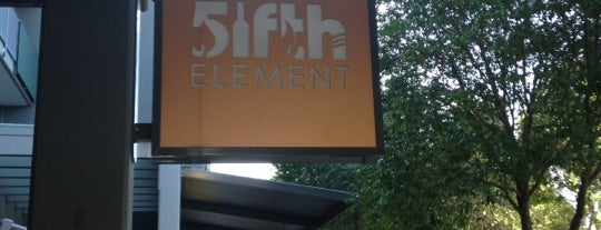 Fifth Element Bar is one of Neat eats.