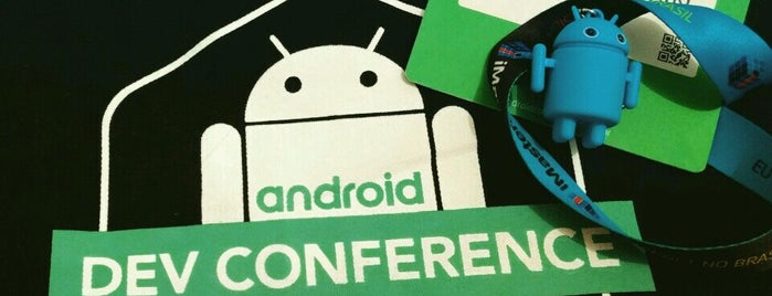 iMasters Android DevConference'2016 is one of Orte, die Fabricio gefallen.
