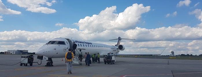 Lufthansa Flight LH 1639 is one of Poznań Ławica Airport (POZ).