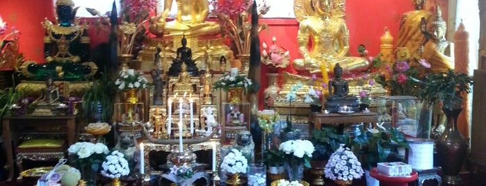 Wat Thai Dhammaram is one of Posti salvati di Katy.