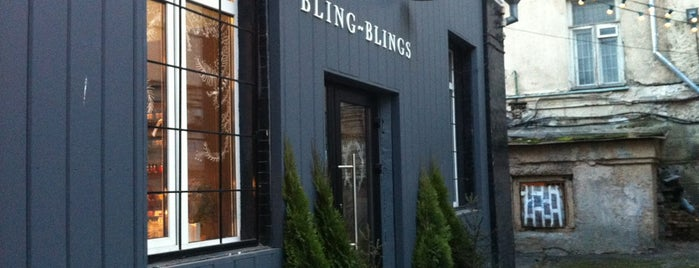 Bling-Blings Shop is one of Orte, die Vyacheslav gefallen.