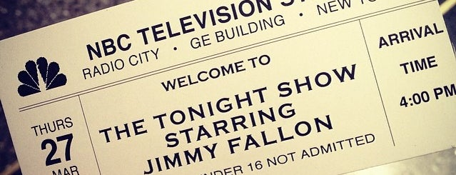 The Tonight Show starring Jimmy Fallon is one of NY.