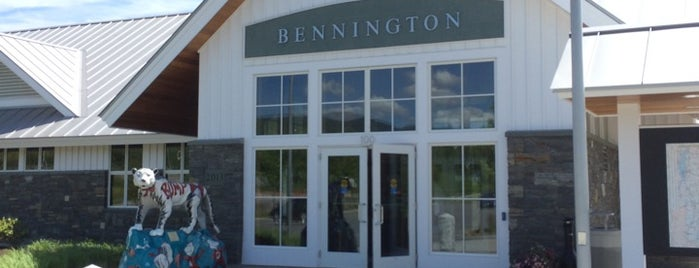 Bennington Welcome Center is one of Montana 님이 좋아한 장소.