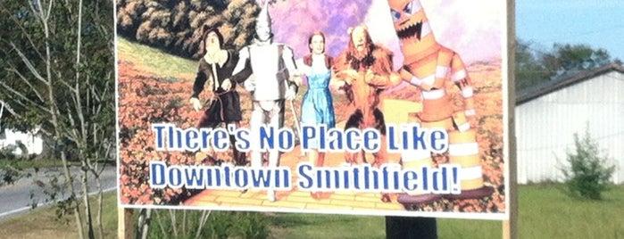Smithfield, NC is one of Locais salvos de North Carolina.