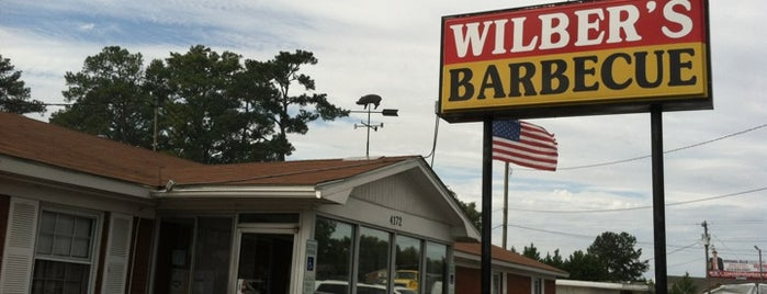 Wilber's Barbecue is one of 500 Things to Eat & Where - South.