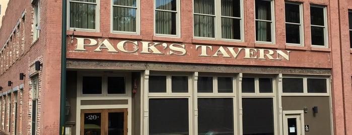 Pack's Tavern is one of Daingerfield/Davenport Wedding in Asheville!.