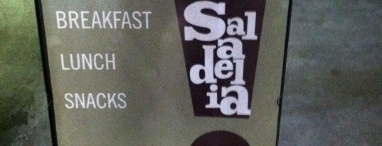 Saladelia Café is one of Lieux qui ont plu à Emily.