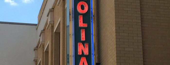 Carolina Theatre Of Durham is one of Bull City Blues.