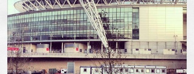 Стадион «Уэмбли» is one of Del : понравившиеся места.