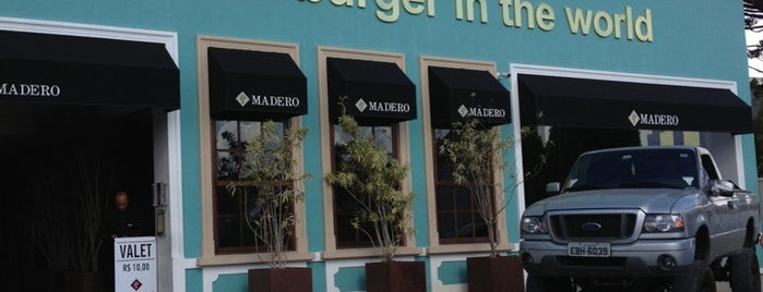 Madero Steak House is one of Tempat yang Disukai Claudio.