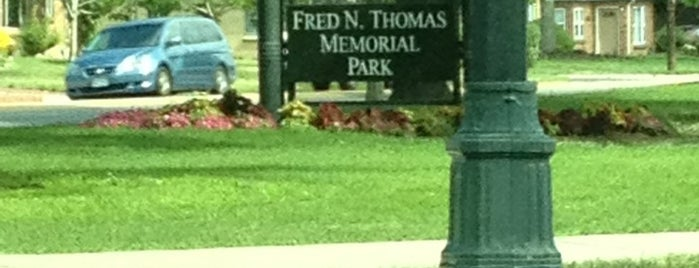 Fred Thomas Park is one of Stapleton Recreation & Outdoors.