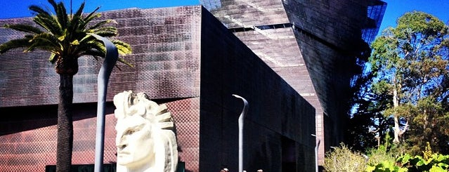 de Young Museum is one of Museums & Libraries.