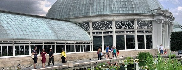 The New York Botanical Garden is one of 🗽 New York City, NY.