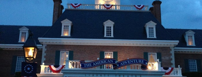 American Adventure Pavilion is one of #WDW Fave Spots.
