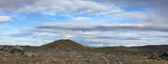 Gerðistangaviti is one of ICELAND / Reykjanes Peninsula.