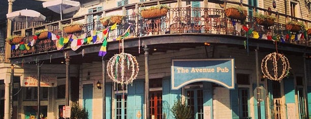 Avenue Pub is one of New Orleans Things to Do.