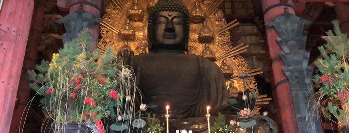 Vairocana Buddha (Nara no Daibutsu) is one of Tempat yang Disukai Chris.