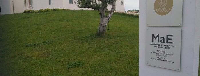 Μουσείο Αρχαίας Ελεύθερνας is one of Orte, die Konstantinos gefallen.