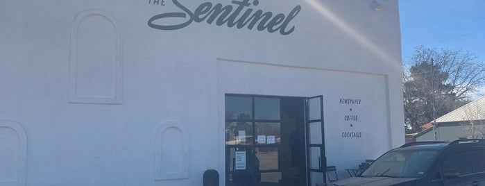 The Sentinel is one of marfa 2019.