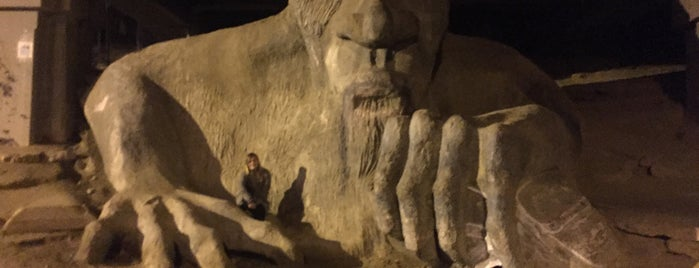 The Fremont Troll is one of Orte, die Melanie gefallen.
