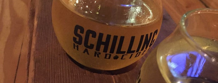Schilling Cider House is one of Orte, die Melanie gefallen.
