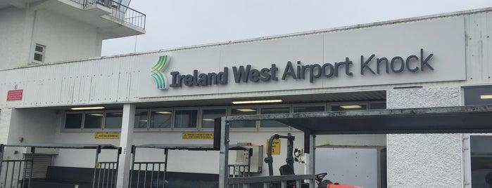 Ireland West Airport Knock is one of Tempat yang Disukai Melanie.