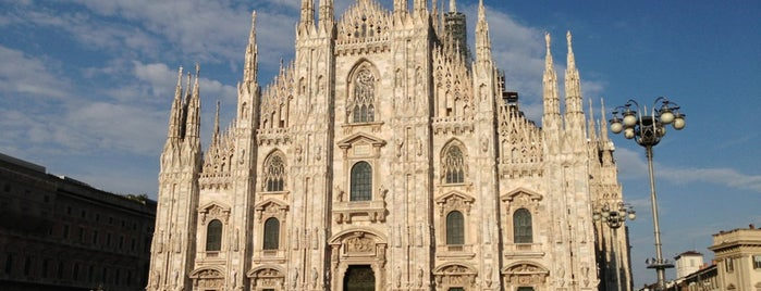 Duomo di Milano is one of Itália.