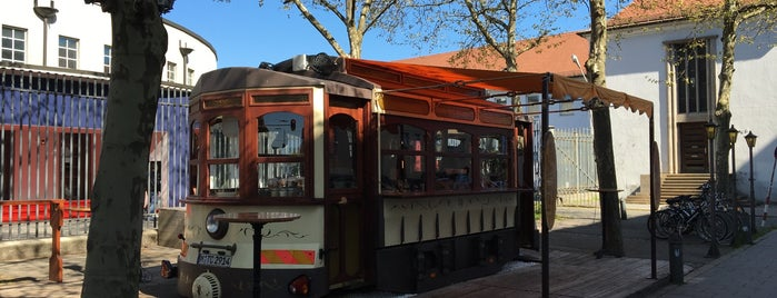 TRAM Café is one of Germany 🇩🇪.