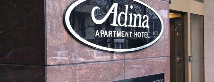 Adina Hotel Budapest is one of สถานที่ที่ Mariya ถูกใจ.