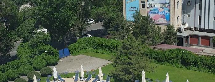 Hyatt Regency Bishkek is one of Ayşe: сохраненные места.