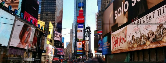 Times Square is one of #myhints4NewYorkCity.