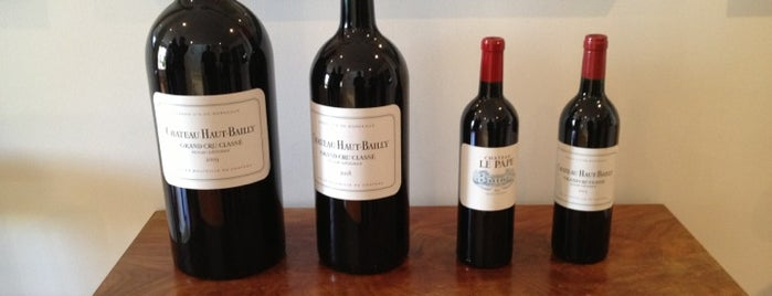 Chateau Haut Bailly is one of Vin.