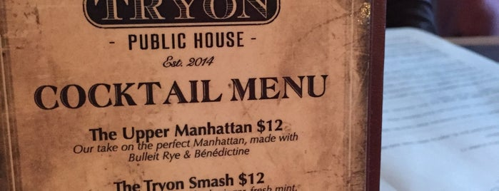 Tryon Public House is one of MY NYC.