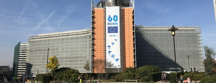 Berlaymont building is one of Helenaさんのお気に入りスポット.
