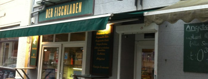 Der Fischladen is one of Berlin eats.