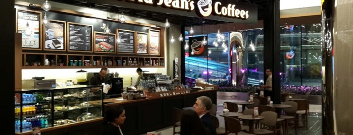 Gloria Jean's Coffees is one of Tempat yang Disukai (((ekin))).