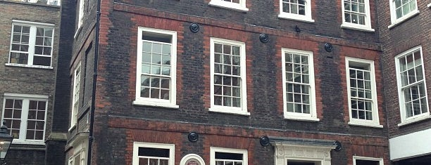 Dr Johnson's House is one of London, UK (attractions).