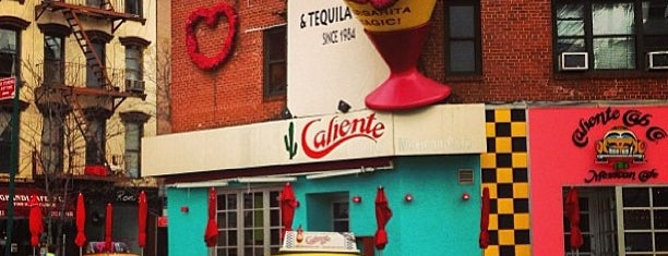 Caliente Cab Co. is one of Restaurants.